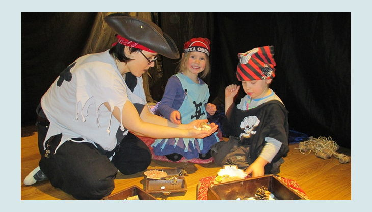 explorado kindermuseum piratengeburtstag