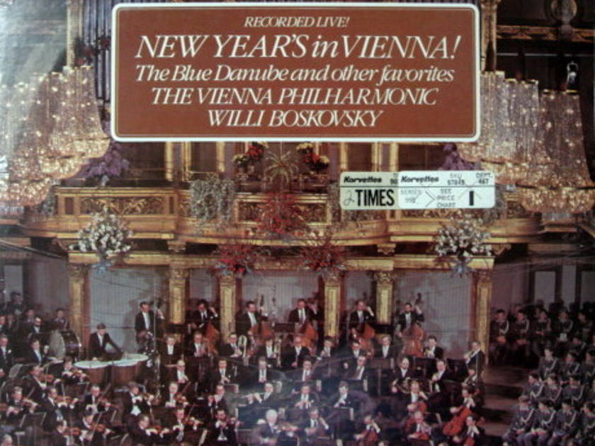 ★Sealed★ London-Decca / BOSKOVSKY, - New Year's in Vienna, 2LP Set!