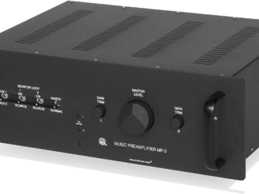 ATMA-SPHERE MP-3 MKIII PREAMP WITH PHONO PRISTINE SHOWROOM DEMO