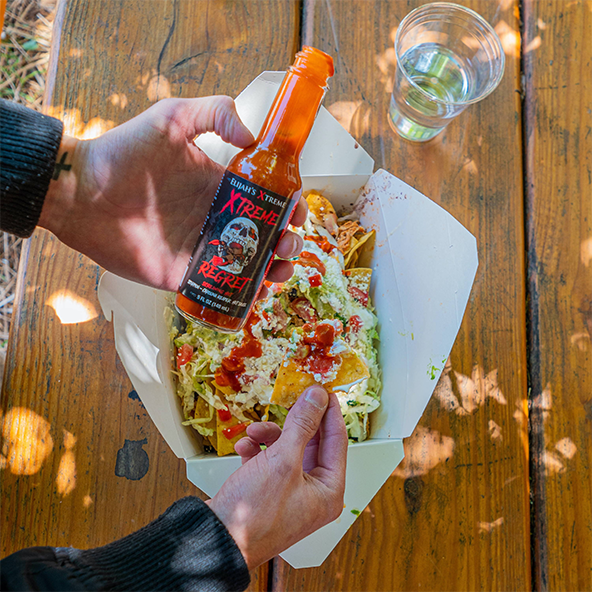 regret hot sauce, xtreme, hot sauce, elijah's xtreme, best hot sauce, hottest hot sauces