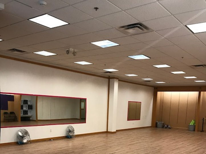 Fitness studio space
