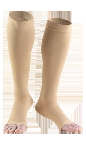 Knee High Open Toe Anti-Embolism Stockings