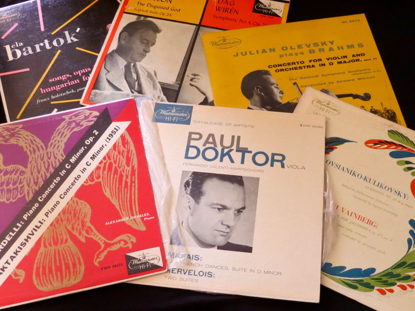 Audiophile:  66 - Westminster Gems for a song!