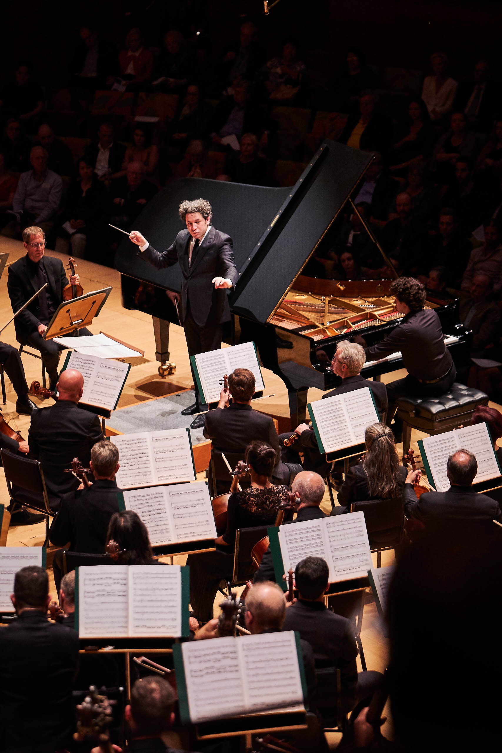 Music & Artistic Director, Gustavo Dudamel leads the Los Angeles Philharmonic