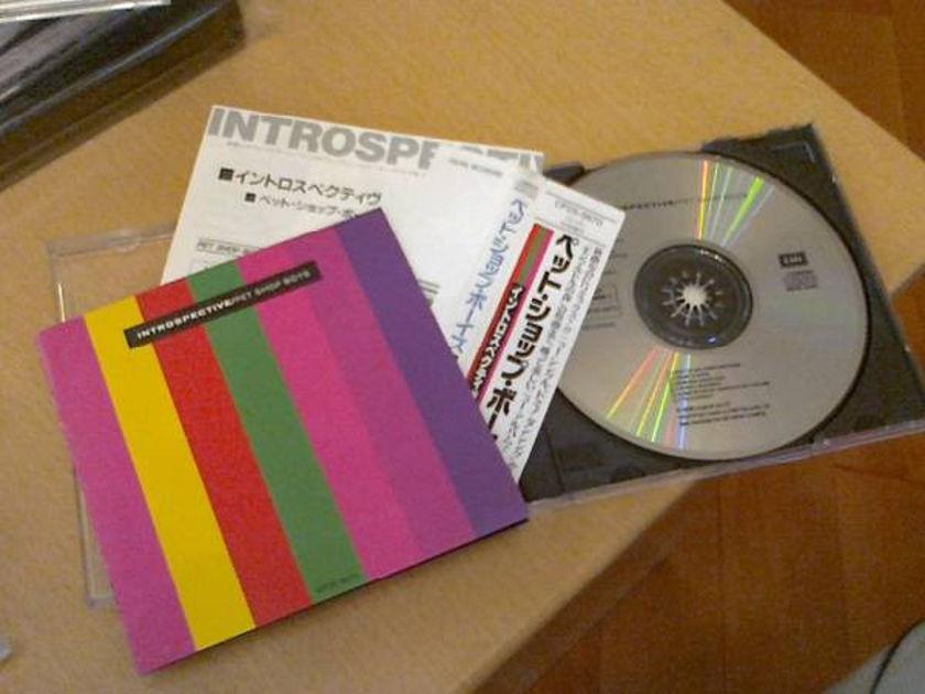 Pet Shop Boys - Introspective (japan 1st edition)