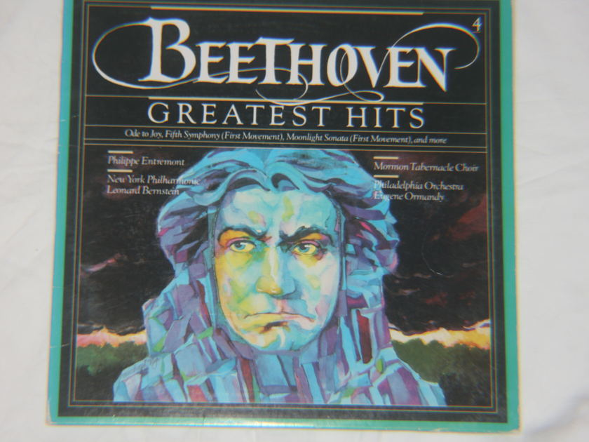 Leonard Bernstein and Eugene Ormandy - Beethoven Greatest Hits M 39434