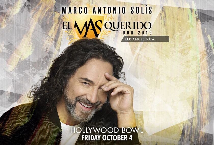 Marco Antonio Solis: El Querido Tour 2019 artwork
