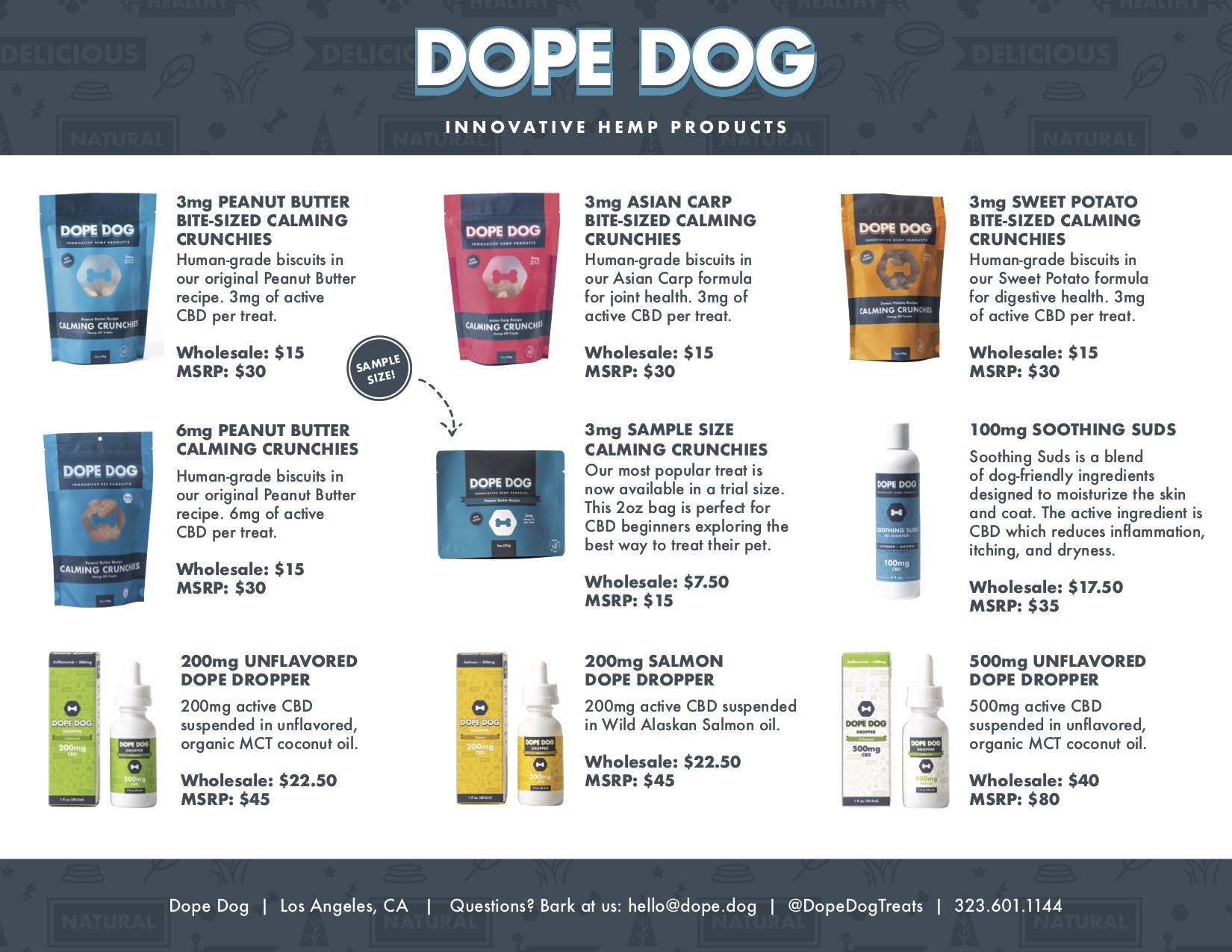 Dope Dog Hemp Products