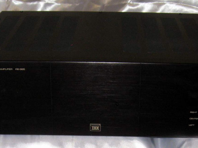 Rotel RB-985 5 channel 5 x 100 power amplifier