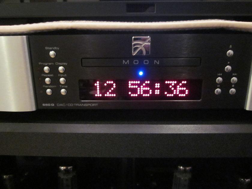 SimAudio Moon Evolution 650D DAC/CD Transport