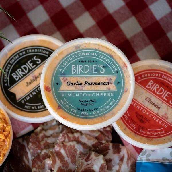 Bidie's Pimento Cheese - Garlic Parmesan Pimento Cheese