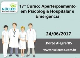 Aperfeiçoamento em Psicologia Hospitalar e Emergência.