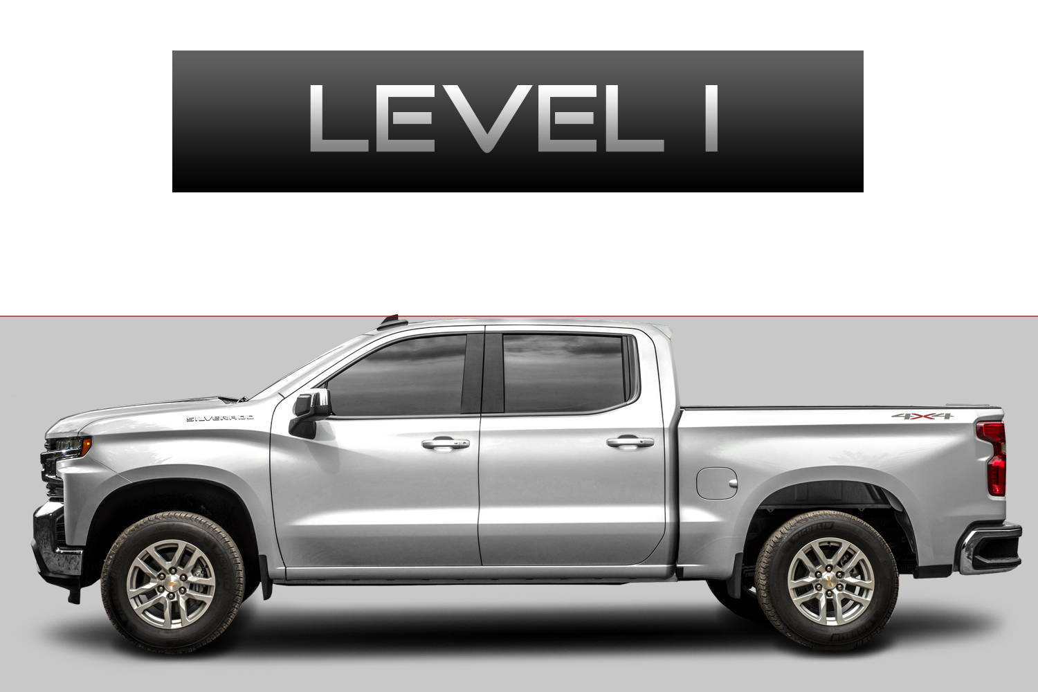 Chevrolet Silverado 1500 Off-Road Customizing Package Level 1 by 3C Trucks