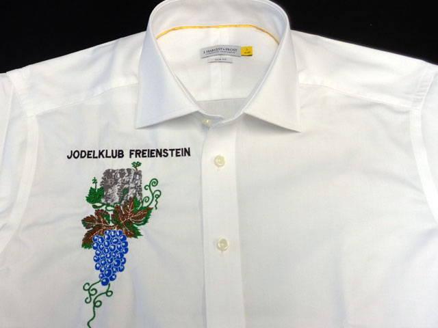 Hemden besticken für Kanna Swiss