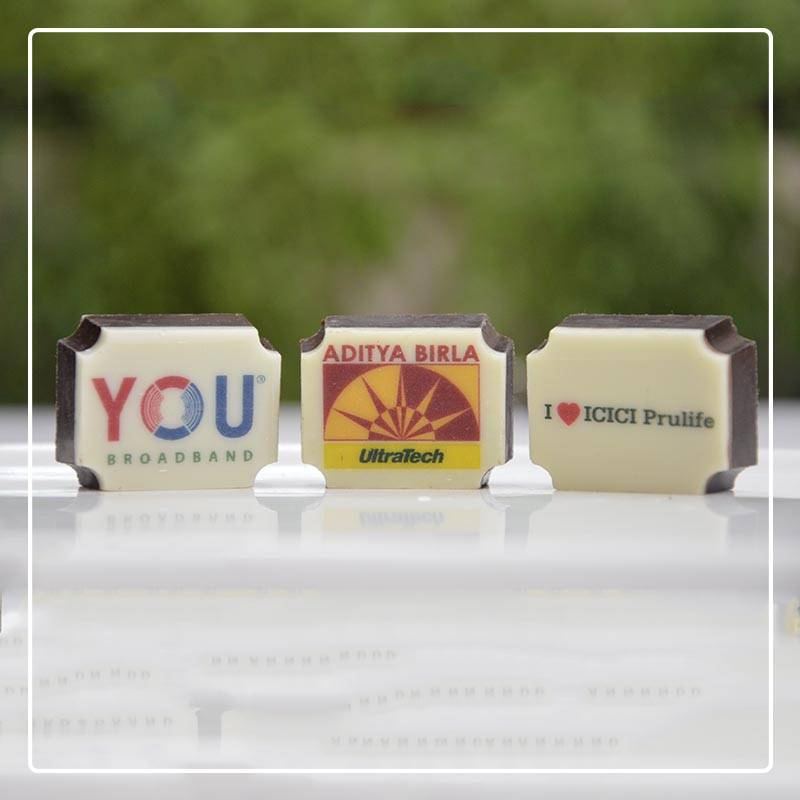 Logo Chocolates for Corporate Diwali Gifts