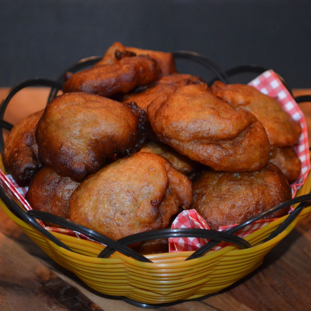 Date: 13 Jun 2020 (Sat) 8th Snack: Fried Banana Balls [Remake] Cuisine: Malaysian  Dish Type: Snack