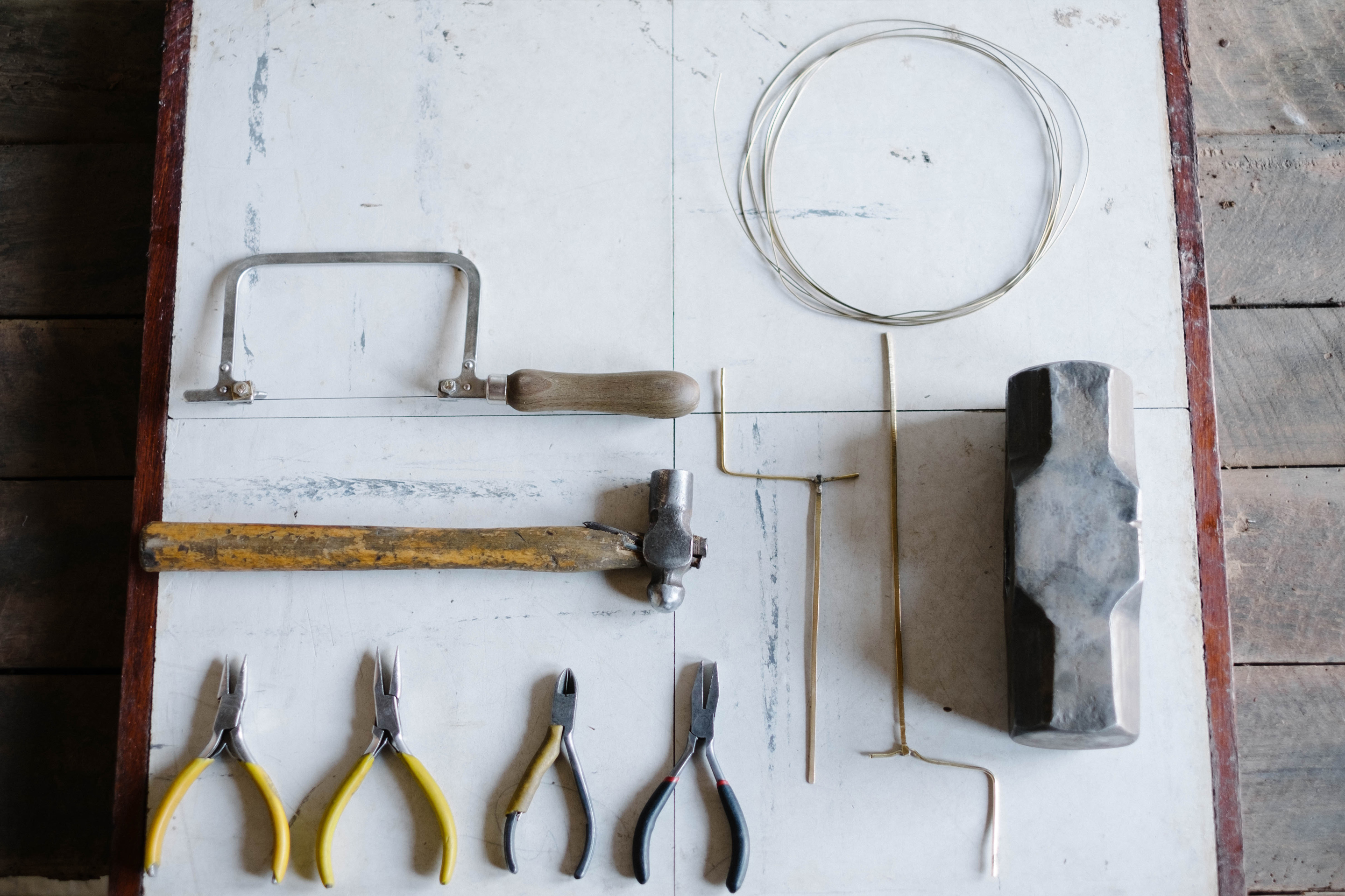 the tools of jewelry making