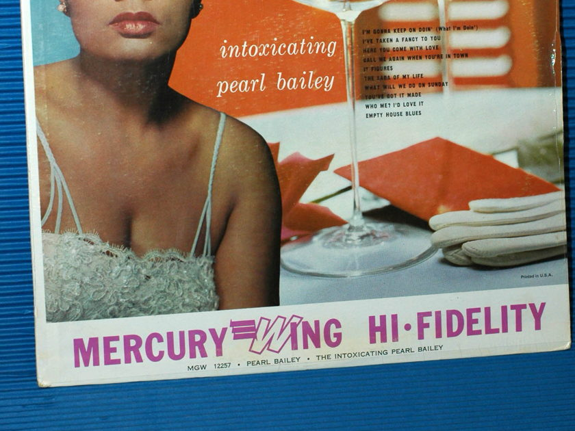 "PEARL BAILEY -  - ""Intoxicating"" -  Mercury Wing  Mono sealed"