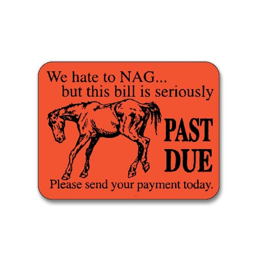 past due credit payment