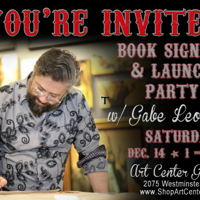 Art Center Gallery - Book Signing Event - Dec 14th link