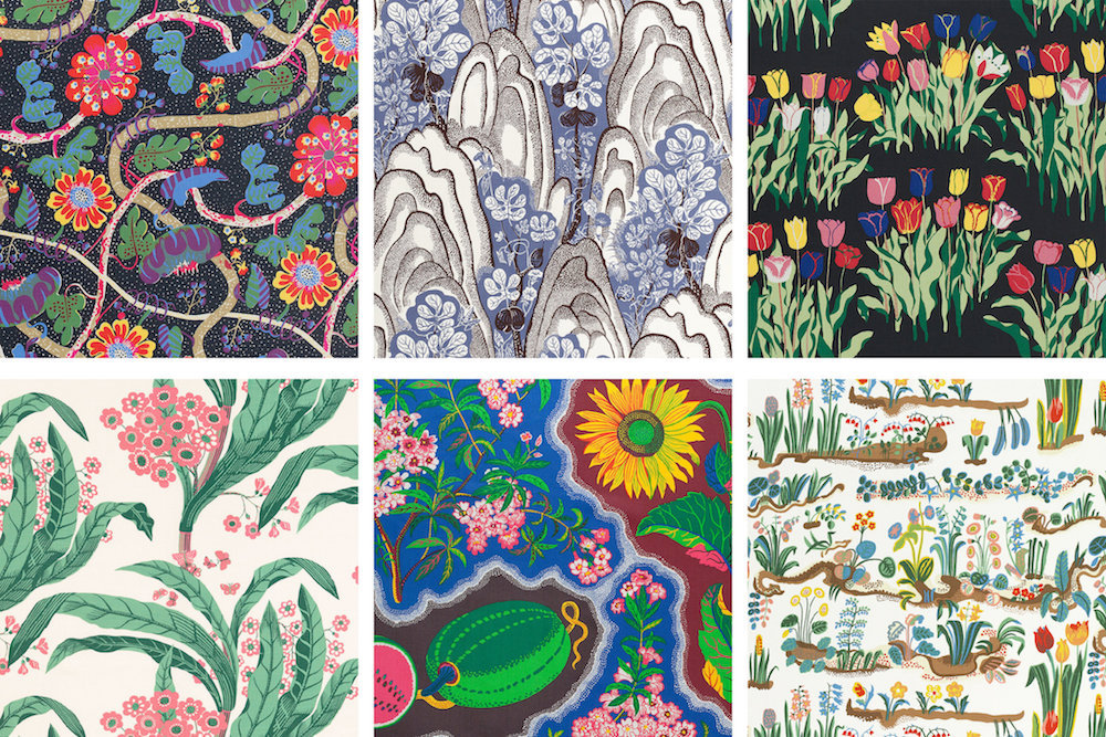 Josef Frank's most popular fabric patterns