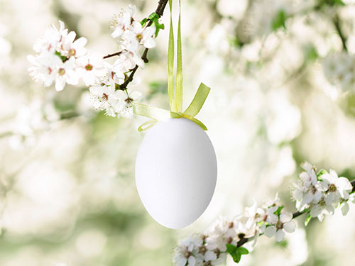 Outside Easter decorations for a stunning spring garden
