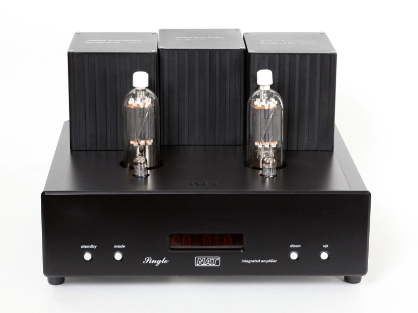Nat Audio Single 805 Tube Integrated amplifier ( single end design)