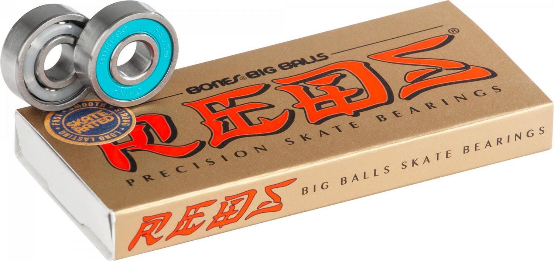 Cuscinetti da skateboard Bones Big Balls Reds