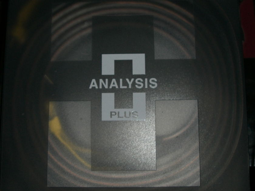 Analysis Audio Oval 9      Speaker Cables 8ft