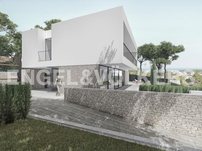 Avant-Garde Luxury Villa with Sea Views in La Fustera