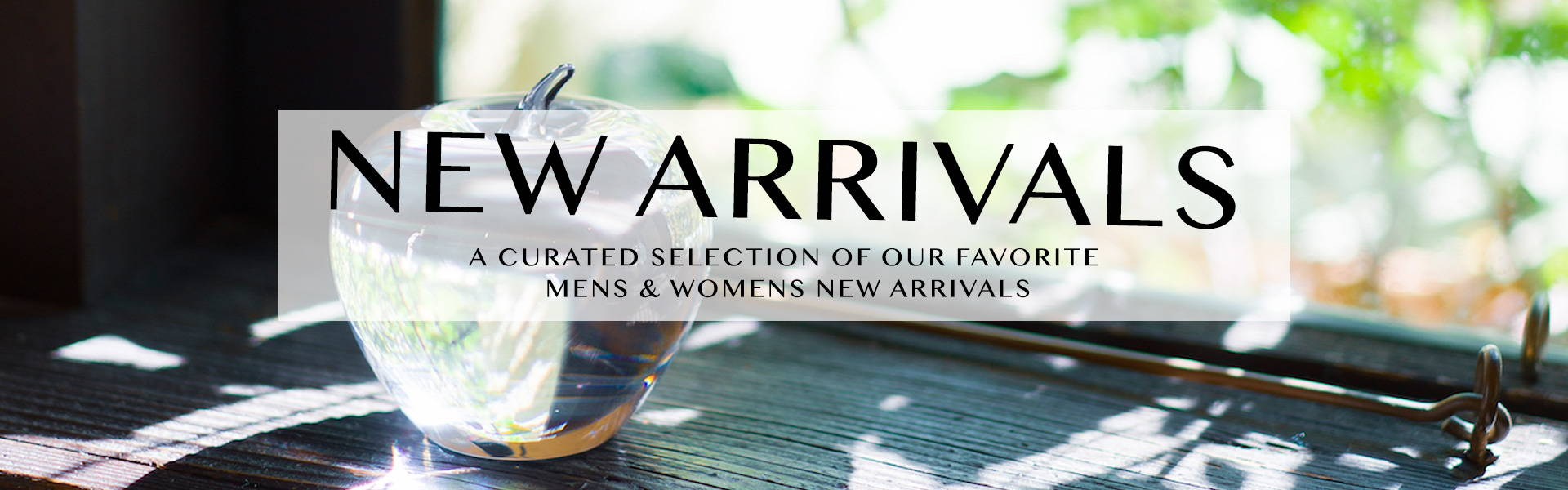 Shop Our Curated Selection of Our Favorite Mens & Womens New Arrivals