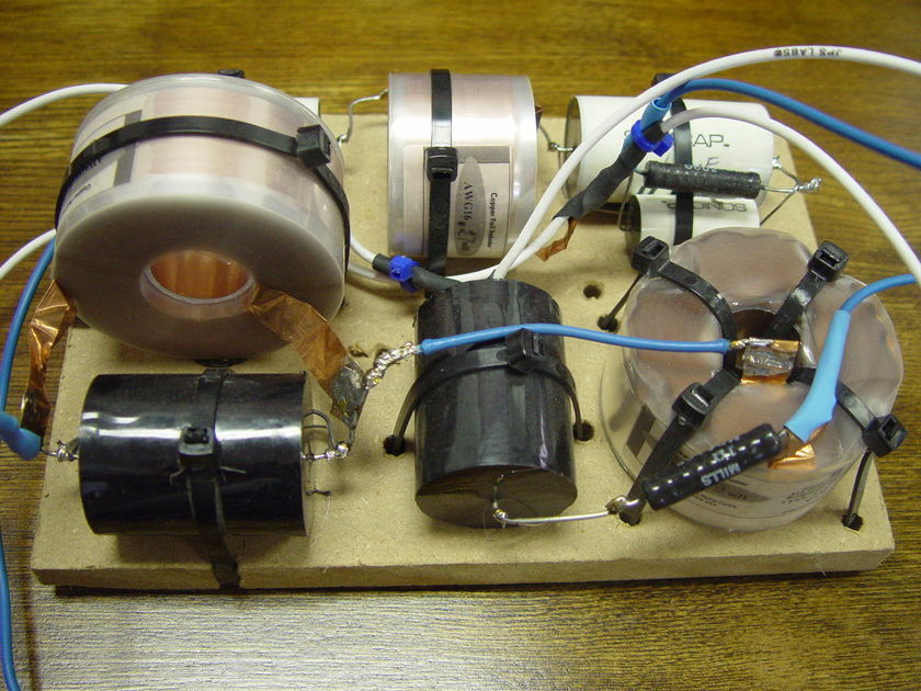 Usher Audio  Be-718 GR Research Crossover U.S. version