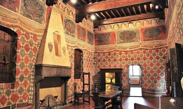 Дом-башня. Жизнь в средние века.