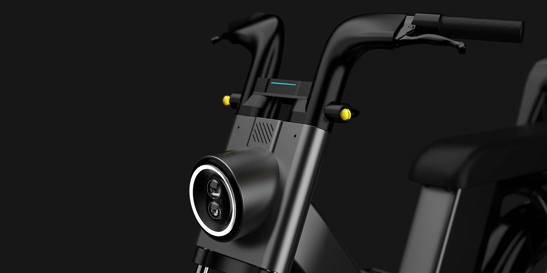 Okai Electric Scooter & Electric Bike Manufacturer-EB200 Electric Front Light