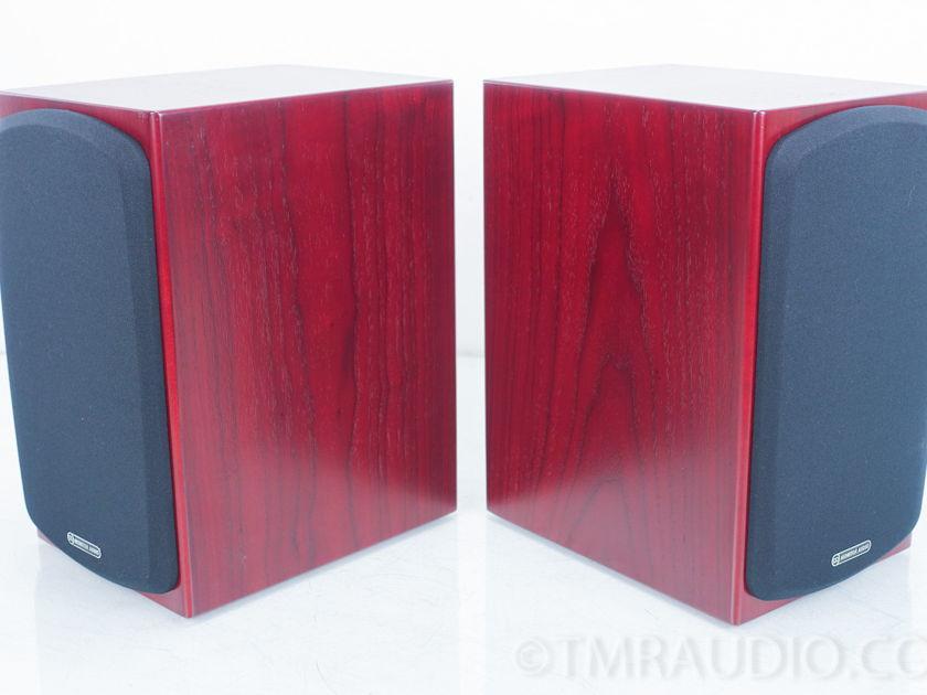 Monitor Audio RX 1 Bookshelf Speakers; Rosenut Pair RX1 (7457)