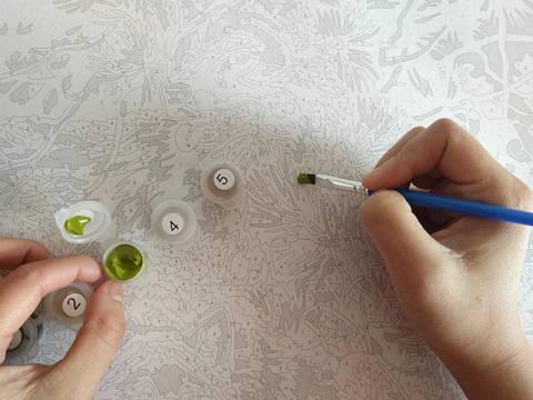 Article de blog nommé petit guide de la peinture par numéros