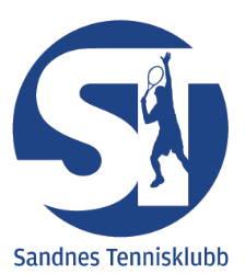 Sandnes Tennisklubb - Klubbkolleksjon - Treningstøy - Tennisutstyr - Diadora