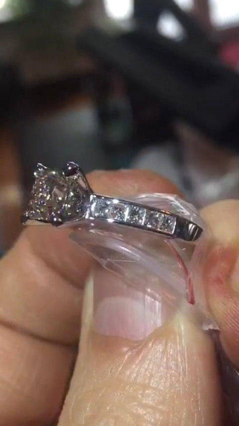 Naser`s fiancée's engagement ring