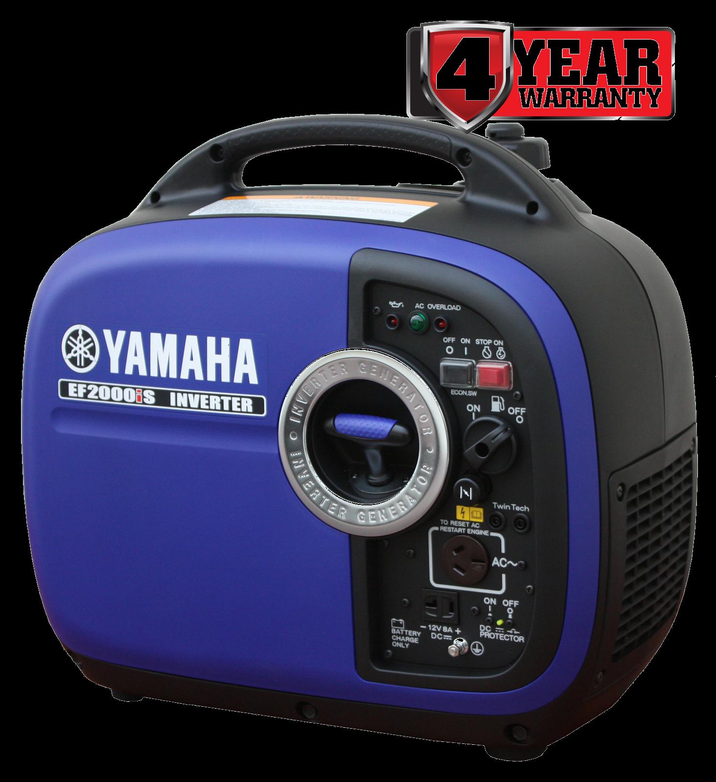 Yamaha Generator Inverter Petrol Yamaha 2Kva - Ef2000is