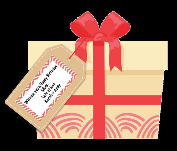 Matcha Gift Set Personalised Gift Tag