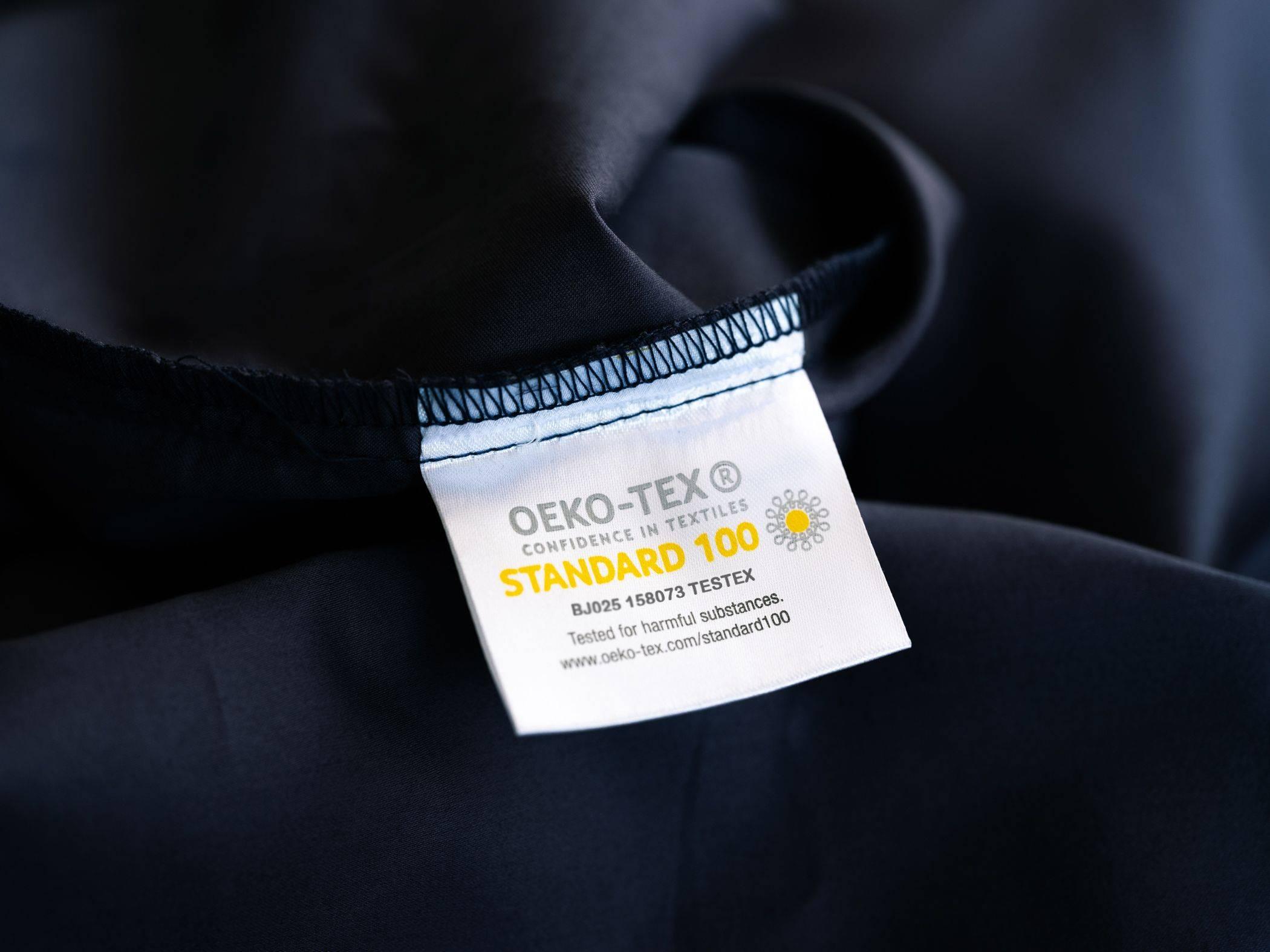 Oeko-Tex Standard 100 Certified Tag