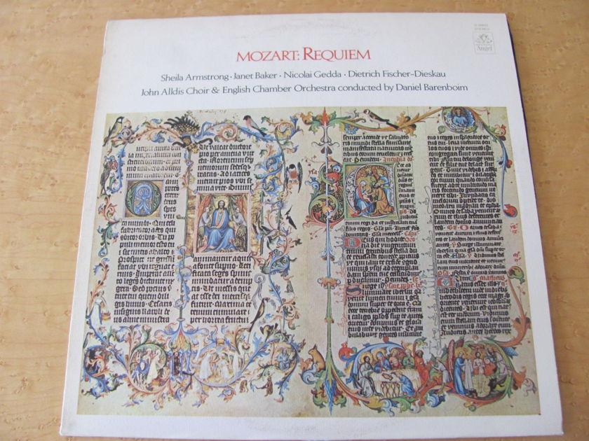 Mozart: Requiem,  - Angel Records, Daniel Bareboim,  John Alldis Choir & English Chamber Orchestra, NM