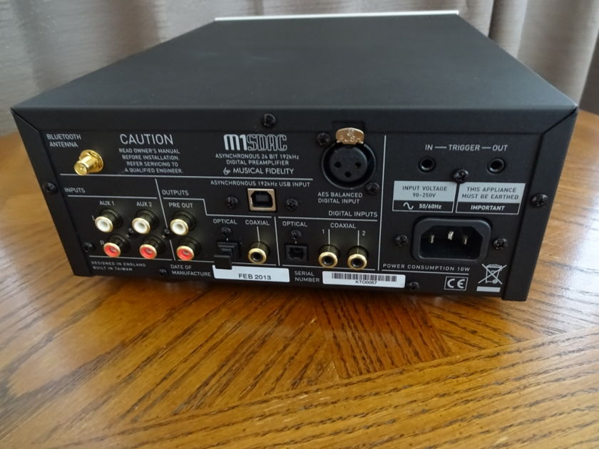 Musical Fidelity M1SDAC silver face   **price reduced**