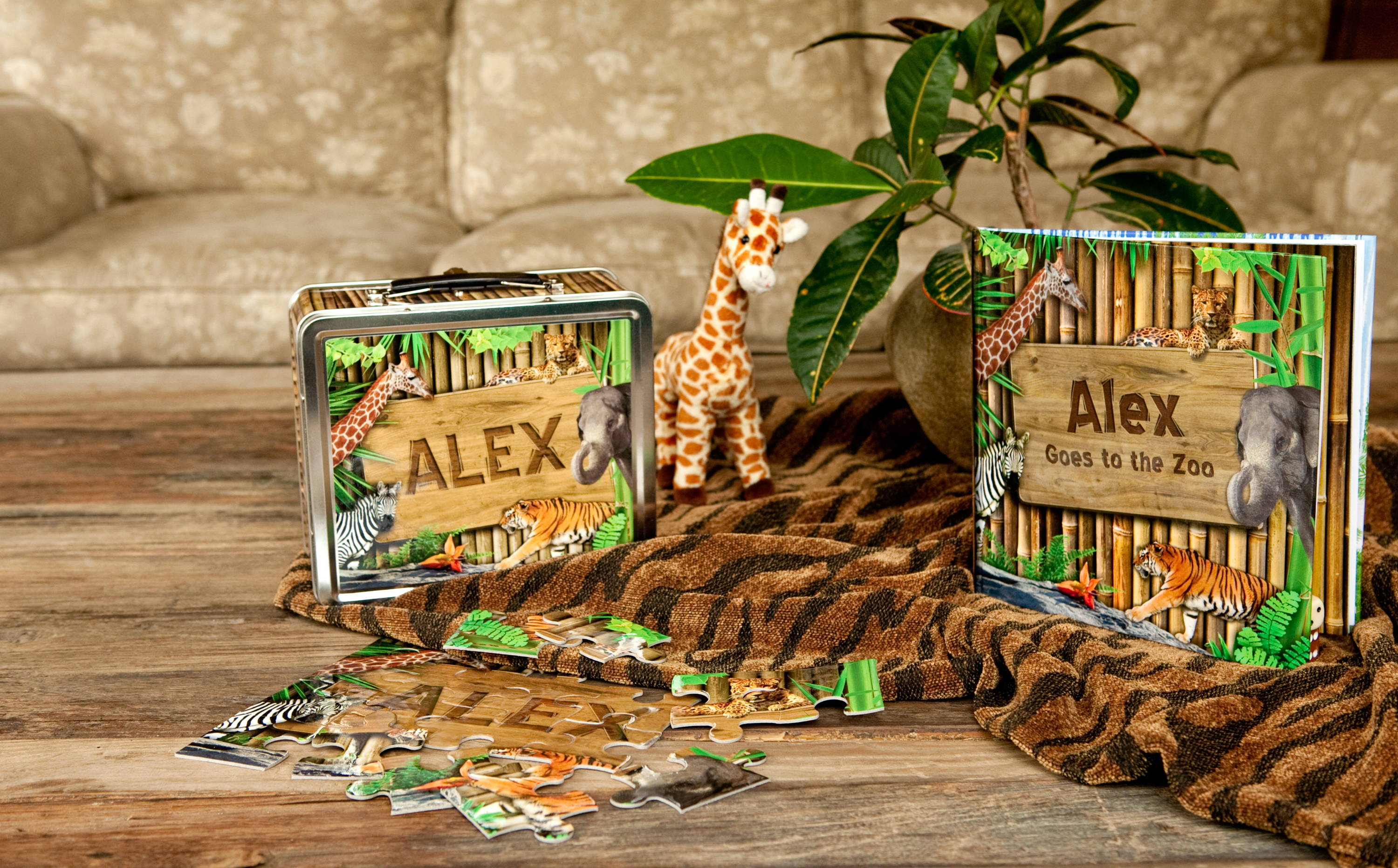 personalized zoo gifts for children