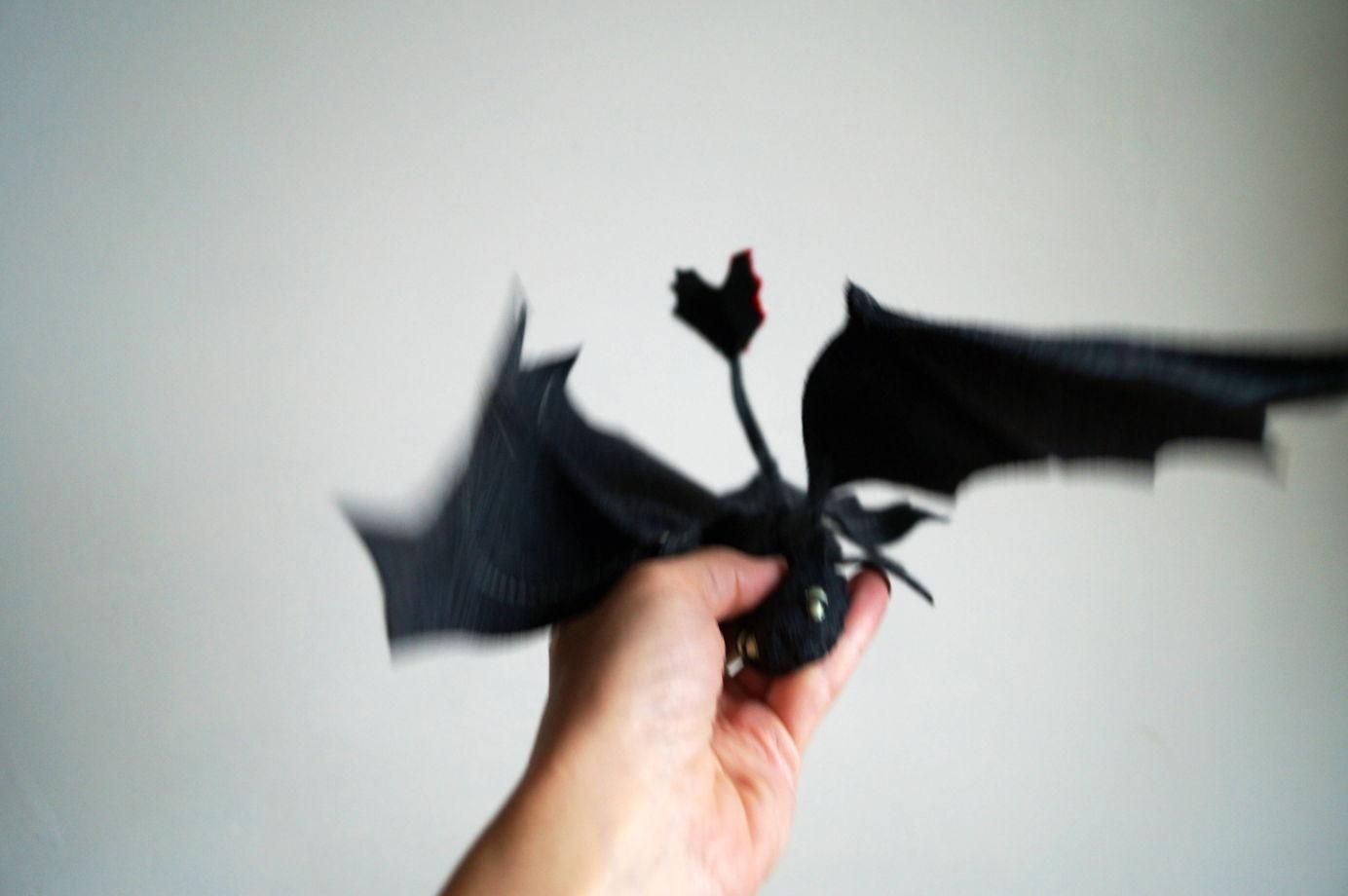 Шерстяной дракон Беззубик
