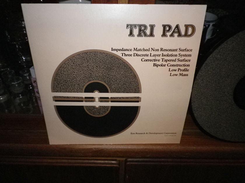 EON RESEARCH& DEVELOPMENT CORP.  TRI PAD,  BEST TURNTABLE MAT