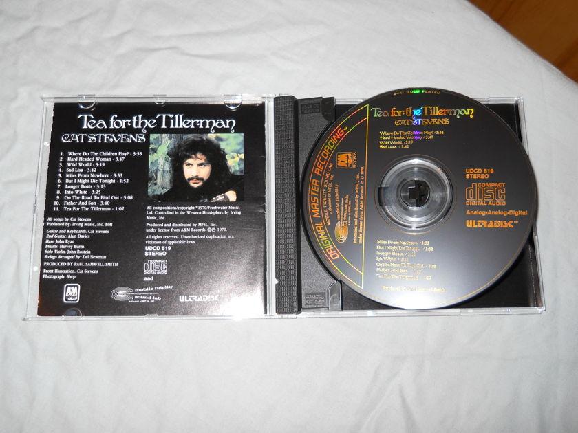 Cat Stevens - Tea For The Tillerman MFSL Ultradisc Gold CD UDCD 519
