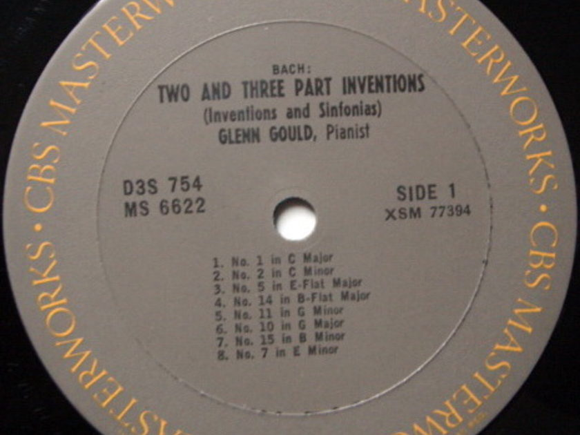 Columbia / GLENN GOULD, - Bach Six Partitas, MINT, 3LP BOX SET!
