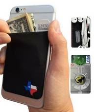 phone wallet Texas by gecko travel tech