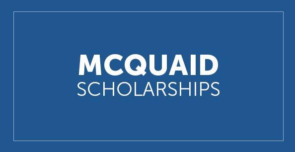 McQuaid Scholarship Button